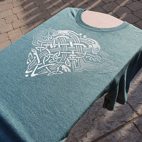 Dogs Celtic Design T-Shirt