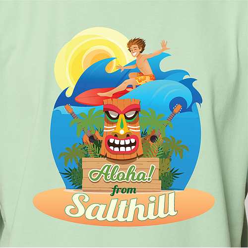 Salthill  - Organic Fitted T